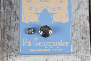 EarthQuaker Limited Edition Bit Commander Electric Guitar Octave Effects Pedal