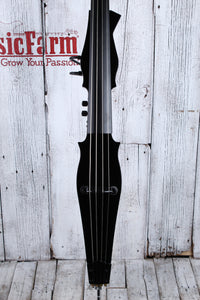 Dean Pace Contra Upright 4 String Electric Bass Guitar PACE CONTRA CBK w Gigbag
