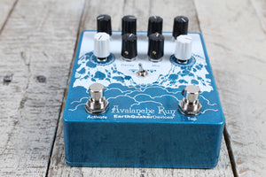 EarthQuaker Avalanche Run V2 Electric Guitar Stereo Delay & Reverb Effects Pedal