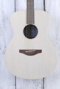 Yamaha Storia I Concert Body Acoustic Electric Guitar Off White Semi Gloss