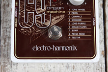 Load image into Gallery viewer, Electro-Harmonix C9 Organ Machine Electric Guitar Piano Emulation Effects Pedal