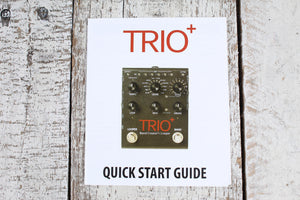 DigiTech Trio Plus Band Creator and Looper Electric Guitar Effects Pedal TRIO+