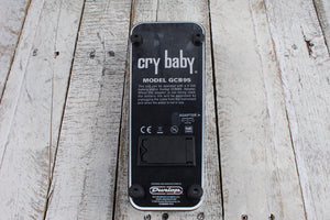 Dunlop GCB95 Cry Baby Wah Pedal Electric Guitar Effects Pedal with Manual