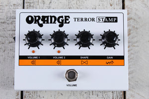 Orange Terror Stamp 20 Watt Tube Hybrid Electric Guitar Amplifier Head Pedal