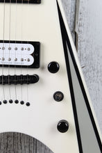 Load image into Gallery viewer, Kramer Nite V Plus Solid Body Electric Guitar Seymour Duncan HH Alpine White