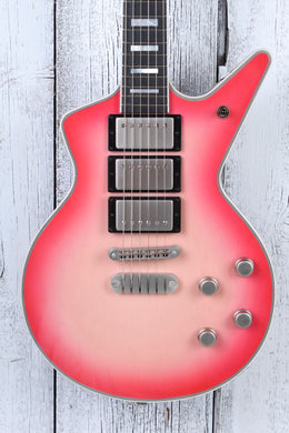 Dean Custom Shop USA Cadillac HHH Electric Guitar Trans Pink Burst with Case