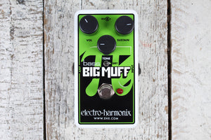NBBMUFF Electro Harmonix Nano Bass Big Muff Electric Bass Effects Pedal