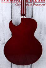 Load image into Gallery viewer, Dean Colt Flame Top 12 String Electric Guitar Semi Hollow Body Arch Top w Piezo
