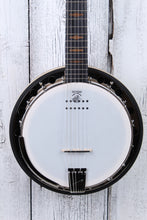 Load image into Gallery viewer, Deering Goodtime Six-R 6 String Closed Back Resonator Banjo with Pickup NAMM