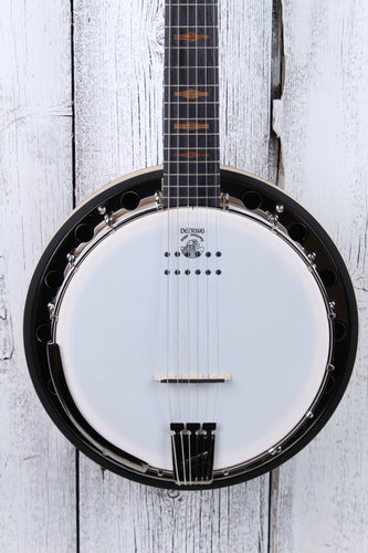 Deering Goodtime Six-R 6 String Closed Back Resonator Banjo with Pickup NAMM