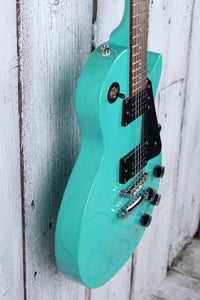 Epiphone Les Paul Studio Solid Body Electric Guitar Turquoise Finish w Gig Bag