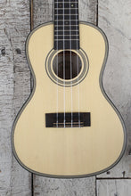 Load image into Gallery viewer, Kala Solid Spruce Top Exotic Mahogany Concert Ukulele Satin Natural KA-SSEM-C