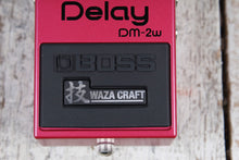 Load image into Gallery viewer, Boss DM-2W Waza Craft Delay Pedal Reissue Electric Guitar Delay Effects Pedal