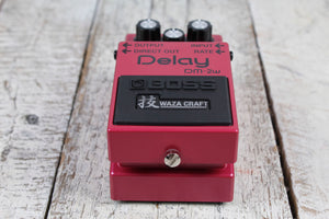 Boss DM-2W Waza Craft Delay Pedal Reissue Electric Guitar Delay Effects Pedal