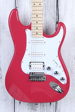Kramer Original Collection Focus VT-211S HSS Electric Guitar Ruby Red Finish
