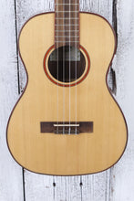 Load image into Gallery viewer, Kala Solid Cedar Acacia Baritone Ukulele Solid Cedar Top Uke Natural KA-ABP-CTG