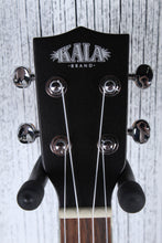 Load image into Gallery viewer, Kala Tenor Archtop Acoustic Electric Ukulele Metallic Black Gloss Uke KA-JTE/MTB