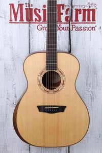 Washburn G10SE Grand Auditorium Acoustic Electric Guitar Natural Satin Finish