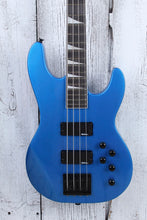 Load image into Gallery viewer, Jackson JS Concert Bass JS3 4 String Electric Bass Guitar Metallic Blue Gloss