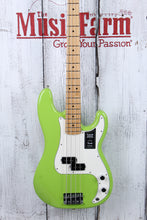 Load image into Gallery viewer, Fender® FSR Player Precision Bass Electric Bass Guitar Limited Electron Green