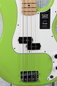 Fender® FSR Player Precision Bass Electric Bass Guitar Limited Electron Green