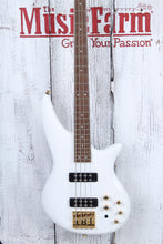 Load image into Gallery viewer, Jackson JS Series Spectra Bass JS3 4 String Electric Bass Guitar Snow White