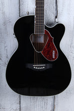 Load image into Gallery viewer, Gretsch G5013CE Rancher Jr Cutaway Acoustic Electric Guitar Fishman Isys+ Black