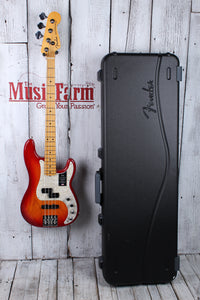 Fender® American Ultra Precision Bass 4 String Electric Bass Guitar w Case & COA