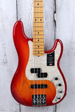 Load image into Gallery viewer, Fender® American Ultra Precision Bass 4 String Electric Bass Guitar w Case & COA