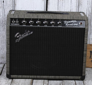 Fender FSR '65 Princeton Reverb Chilewich Charcoal Electric Guitar Amplifier