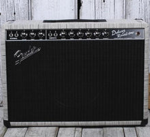 Load image into Gallery viewer, Fender® Special Run '65 Deluxe Reverb Chilewich Chalk Electric Guitar Amplifier