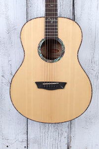 Washburn Bella Tono Elegante S24S Acoustic Guitar Solid Spruce Top Natural