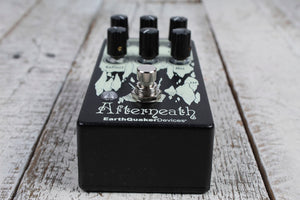 EQD AFTE: V3 USA  EarthQuaker Devices Afterneath V3 Reverb Pedal