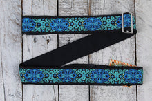 "Load image into Gallery viewer, Henry Heller 2"" Woven Jacquard Strap w/Tri Glide & Nylon Backing - Multi Color"