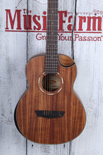 Load image into Gallery viewer, WCGM55K-D_T200200789 Washburn Koa Top Acoustic Guitar