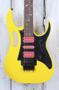 Ibanez Steve Vai Signature JEM JR Electric Guitar Quantum HSH Yellow JEMJRSPYE