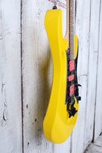 Load image into Gallery viewer, Ibanez Steve Vai Signature JEM JR Electric Guitar Quantum HSH Yellow JEMJRSPYE