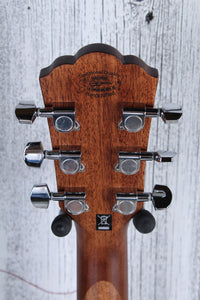 Washburn Woodline Series O12SE Orchestra Body Acoustic Electric Guitar Natural