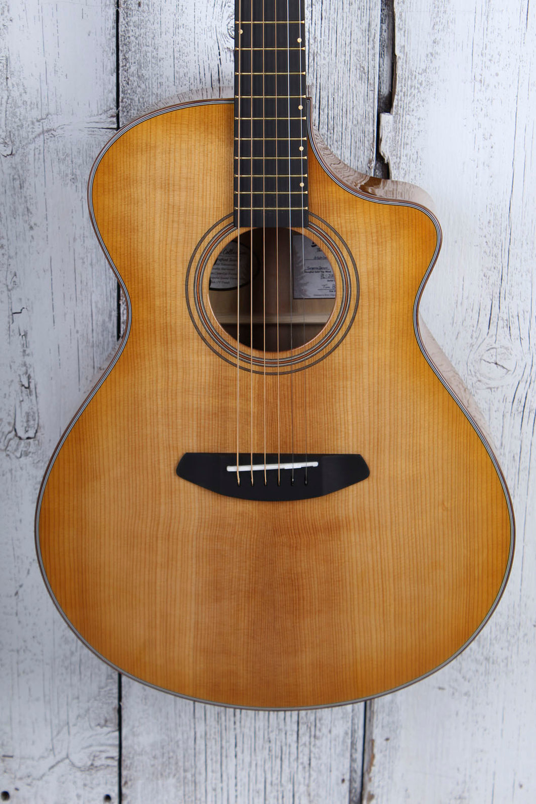 Breedlove Organic Artista Concert CE Acoustic Electric Guitar with Gig Bag