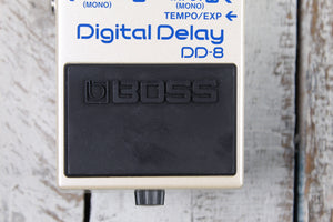 BOSS DD-8 Digital Delay Electric Guitar Effects Pedal with Three FREE Cables