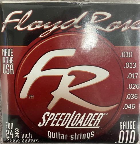 Floyd Rose FR1046 Speedloader Guitar Strings for 24 3/4 Scale Made in the USA