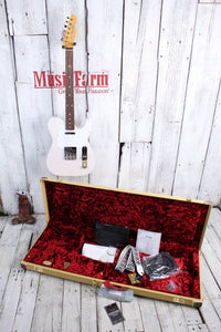 Fender® Jimmy Page Mirror Telecaster Electric Guitar Tele with Tweed Case & COA