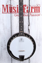 Load image into Gallery viewer, Deering Boston 6 String Acoustic Electric Banjo with Kavanjo Pickup & Case NAMM