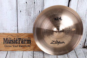 Zildjian ZBT Series Expansion Cymbal Pack 18 Inch Crash and 18 Inch China ZBTE2P