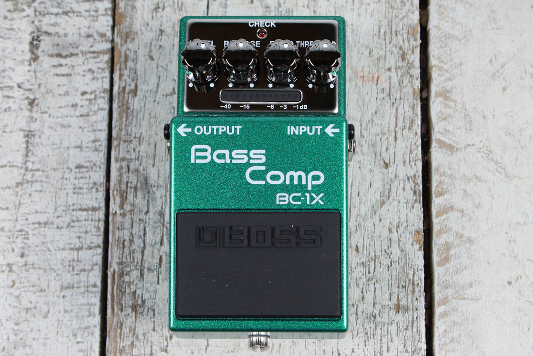 Boss BC-1X Bass Comp Effects Pedal Electric Bass Guitar Compressor Effects Pedal
