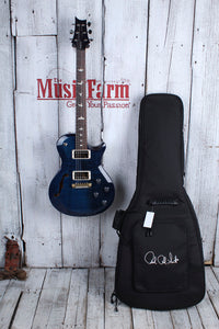 Paul Reed Smith S2 Singlecut Semi Hollow Electric Guitar Whale Blue with Gig Bag