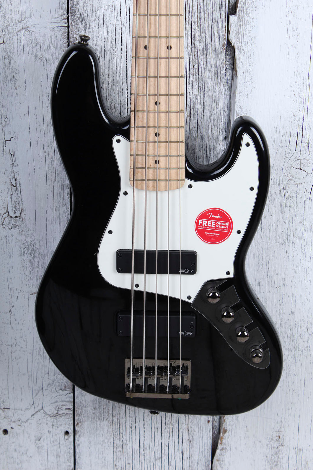 Fender® Squier Contemporary Active Jazz Bass HH V 5 String Electric Bass Guitar