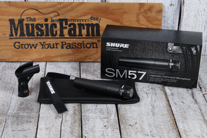 Shure SM57 Dynamic Microphone w Cardioid Pickup Pattern Vocal & Instrument Mic