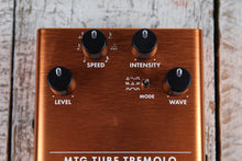 Load image into Gallery viewer, Fender® MTG Tube Tremolo Pedal Electric Guitar Effects Pedal Real Tube Tone