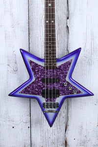 Warwick Bootsy Collins SpaceBass 4 String Electric Bass Guitar Bootsy Purple